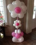 Ballonstaander bloemvorm_