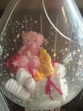 1- Ballon gevuld met pampers Princess_