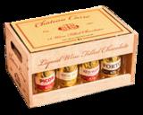 Kistje Wijnpralines Chateau Carré 200gr. Voor de meester_