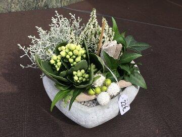 1 - Hartje vaste plant witte tinten