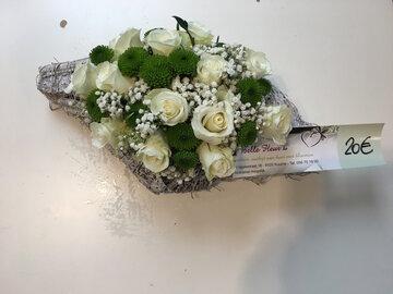 bloemstukje mini roosjes