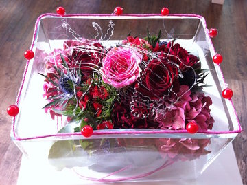 bloemstuk in vaas