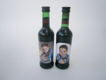 stickers voor wijn of cava