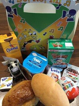 Kinderontbijt luxe met gratis cécémel drinkbeker