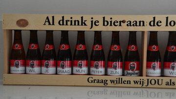 Krat meter bier