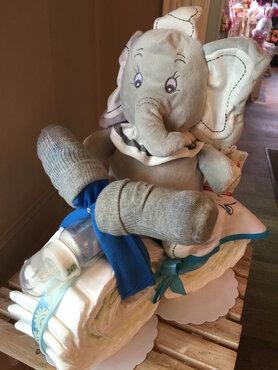 Pampermoto jongen olifant disney