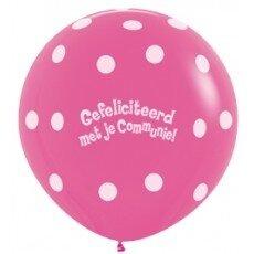 C/Latexballon Communie - 36 inch = 90cm