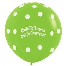 E/Latexballon Communie - 36 inch = 90cm