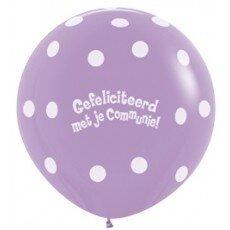 G/Latexballon Communie - 36 inch = 90cm