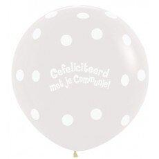 H/Latexballon Communie - 36 inch = 90cm