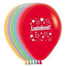 A/ballon 12 inch(30cm) met tekst Lentefeest