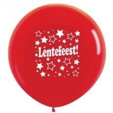 D/Latexballon Lentefeest - 36 inch = 90cm