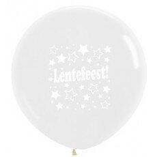 H/Latexballon Lentefeest - 36 inch = 90cm