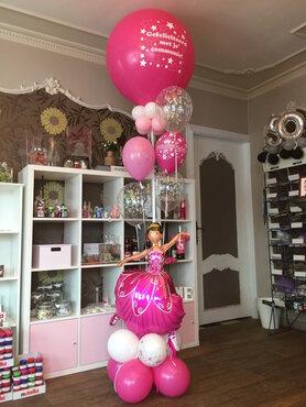 1/Balloncreatie communie Ballerina/Prinses