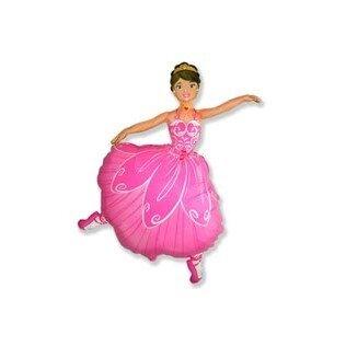 Folieballon ballerina 32inch/78cm