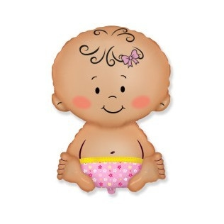 baby pink 9 inch = 13 cm
