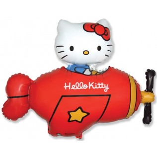 Hello Kitty airplane 9 inch = 13 cm