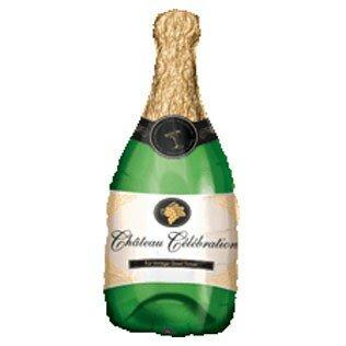 Champagne bottle 14 inch = 35 cm