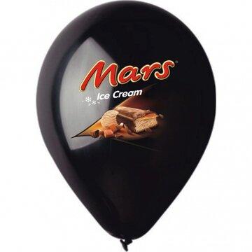 Bedrukte latex reclameballonnen