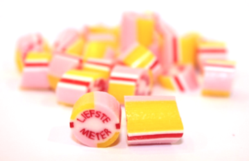 Fruitsnoepjes Rock Candy Liefste Meter