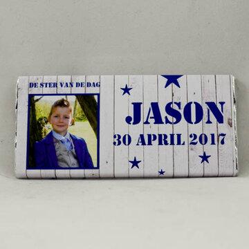 Jason reep melkchocolade 40gr.
