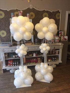 Ballonstaander bloemvorm huwelijk 200cm