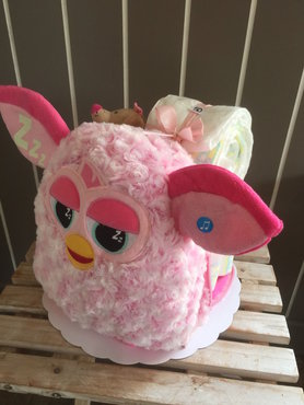 6-pampertaart Furby meisje