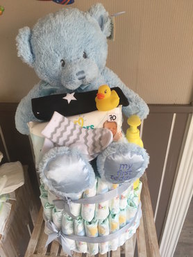 5-pampertaart   My first Teddy jongen