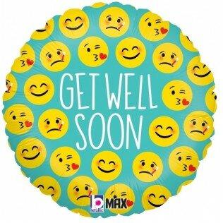 emoji get well 18 inch