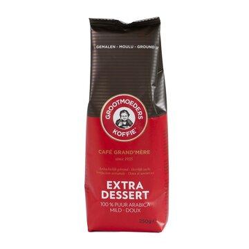 Grootmoeders koffie extra dessert gemalen 250gr.