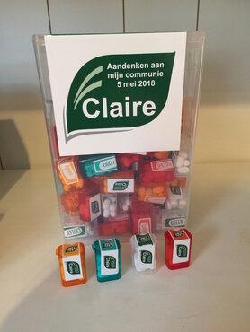 1- Doos Tic Tac giant met 60 mini doosjes