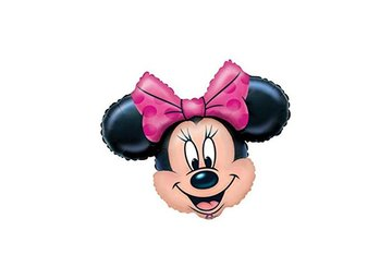 Folieballon minnie mouse 27inch = 68cm