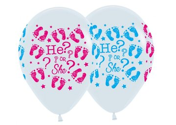 ballon 11 inch HE or SHE met helium en high float (houdbaarheid 1 week)