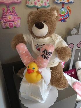 pamperfiets happy bear newborn