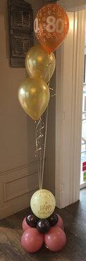 Ballonnentros verjaardag met ballonvoet