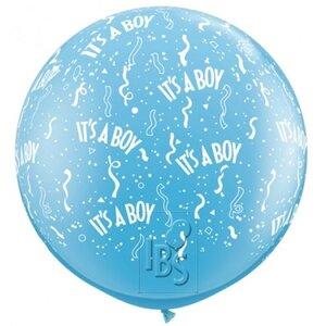 Latexballon it's a boy 36 inch = 90cm