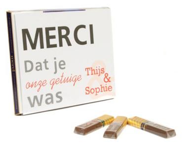 merci chocolade met wikkel - labellefleurgifts