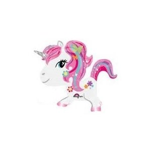 Folieballon unicorn air walker 31 inch/78cm