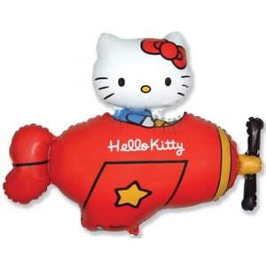Hello Kitty airplane 9 inch = 13 cm