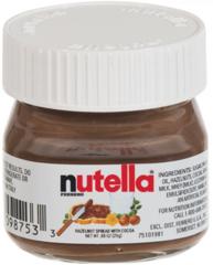 Mini Nutella 25gr. groothandel