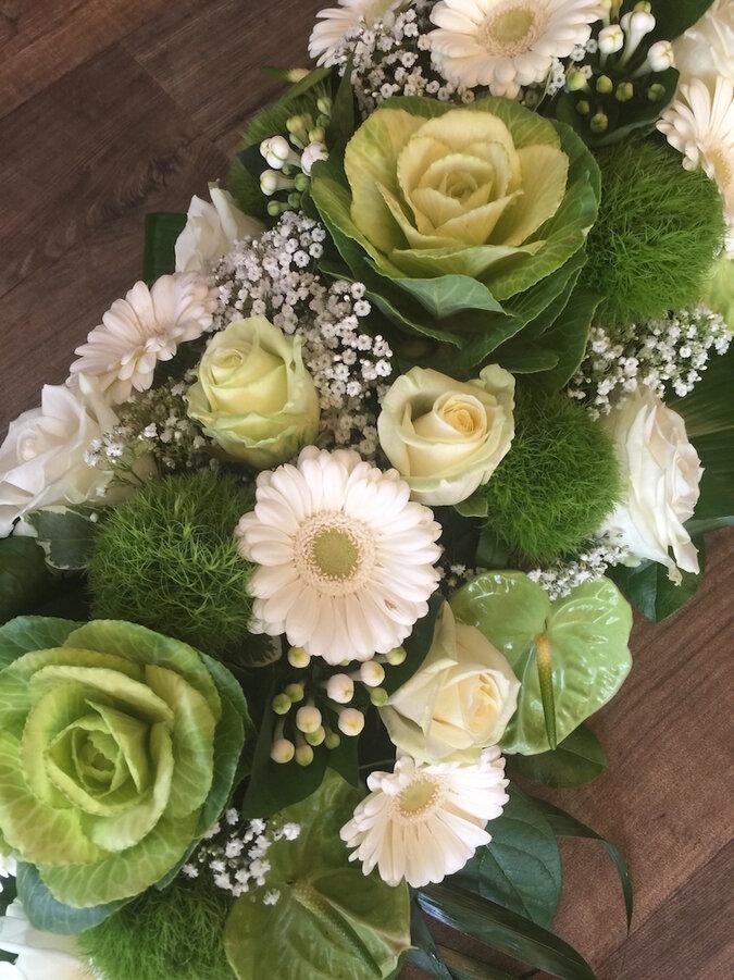 Bloemen-Begrafenis
