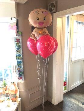Ballonboeket Baby Girl