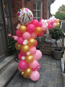 Organic Ballondeco Verjaardag