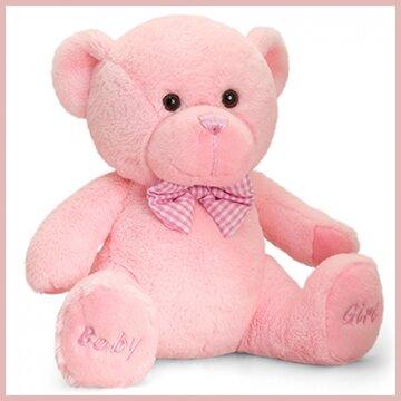 Knuffelbeer 35cm Baby Girl