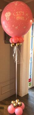 Ballonstaander ballon 90cm op voet