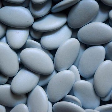 De Bock dragées  brilliant blauw