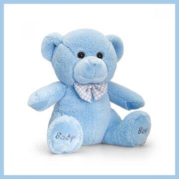 Baby Boy bear 25cm