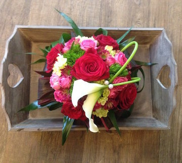 bloemstuk bolvorm