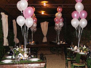 ballon 11 inch met standaard tekst gevuld met helium en vliegverlenger (houdbaarheid 1 week)