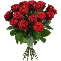 boeket rode rozen